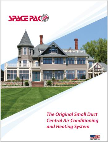 The Original Small Duct Central Air Conditioning and Heating System Brochure